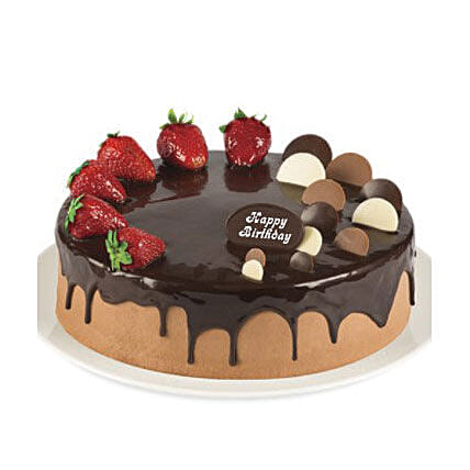 Double Chocolate Strawberry Cake Delivery In Sydney