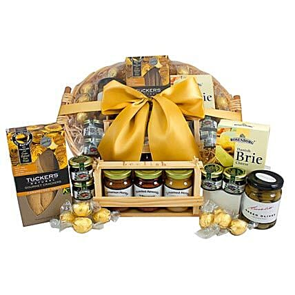 Gourmet Sweet N Savory Hamper: Send Bhai Dooj Gifts to Australia
