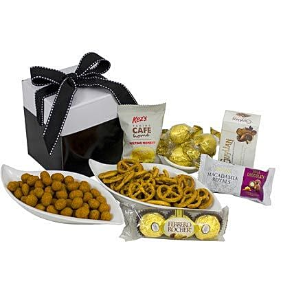 MINI INDULGENCE SWEET N SAVOURY: Bhai Dooj Gift Delivery in Australia