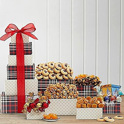 Chocolate And Sweets Tower Canada Gifts For Birthday