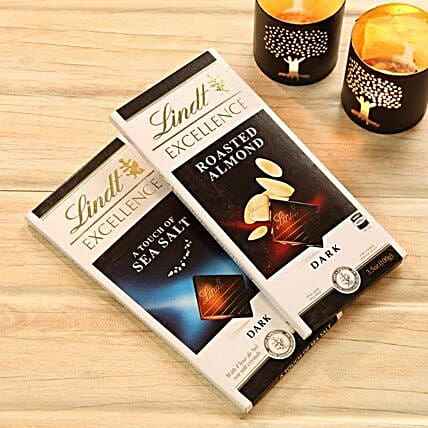 Lindt Dark Choco Bars: Diwali Gift Delivery Canada