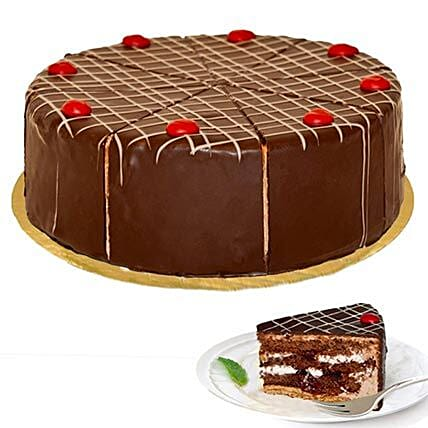 dessert blackforest cherry cake valentines day gifts to germany