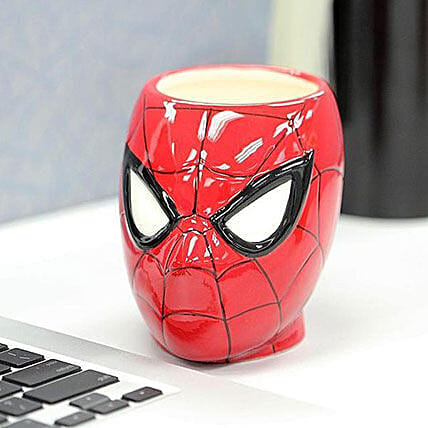 3D Spiderman Mug: Funny Gifts