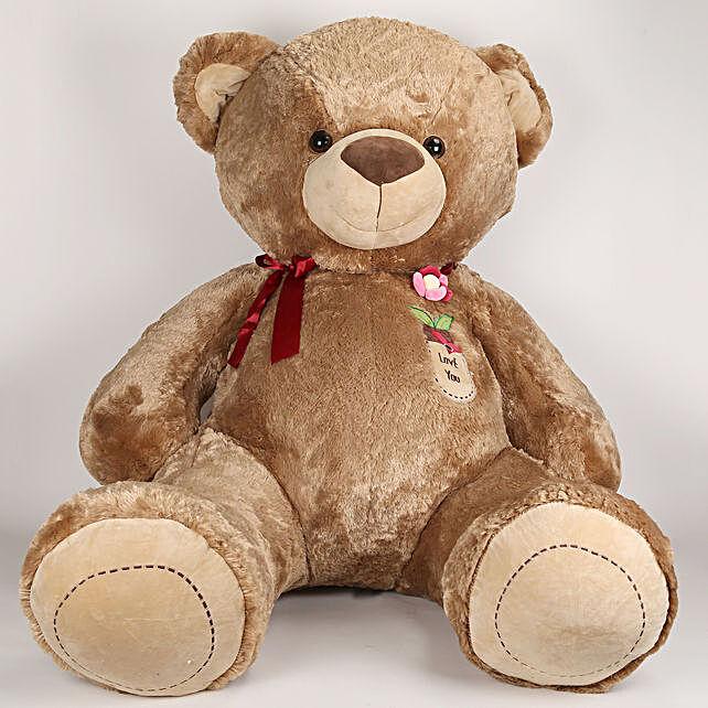 5 Feet Tall Huggable Brown Teddy Bear: Gifts for Teddy Day