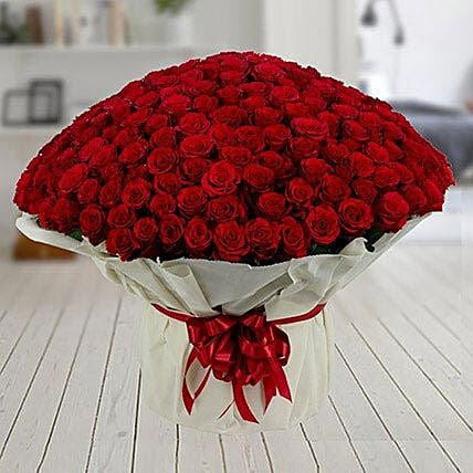 500 Red Roses Premium Bouquet: Gifts to India