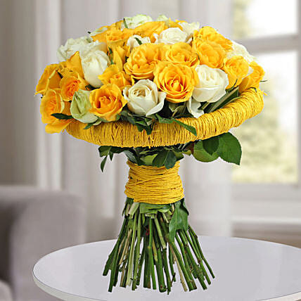 Amazing Yellow Roses Bunch: Premium & Exclusive Gift Collection