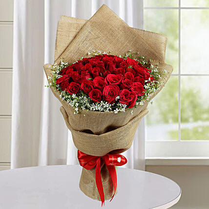 Appealing Red Roses Bunch: Premium & Exclusive Gift Collection