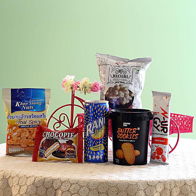 Assorted Healthy Snack Hamper: Send Gift Hampers