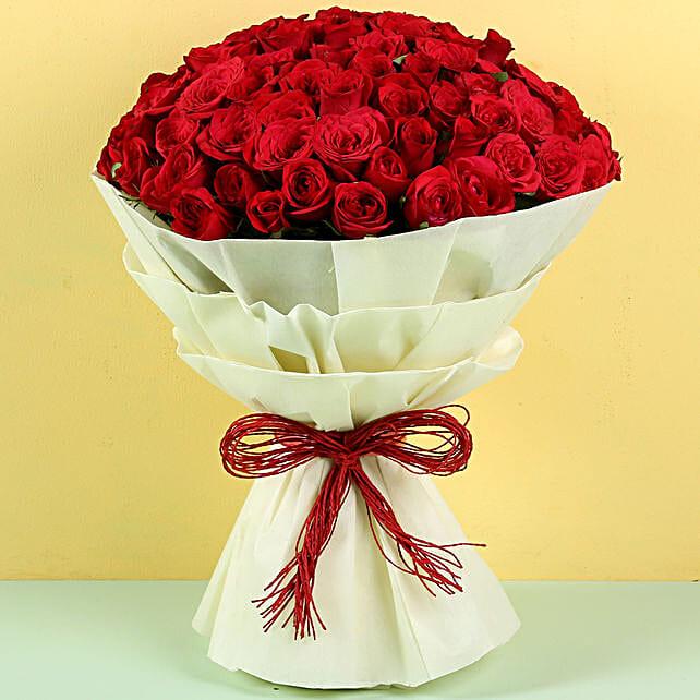 Authentic Love 100 Roses: Premium Roses
