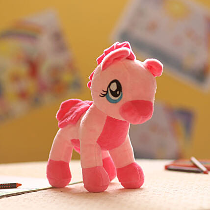Baby Pink Pony Soft Toy: Soft Toys Gifts