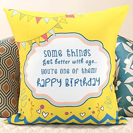 Birthday Message Cushion Gifts For Boyfriend