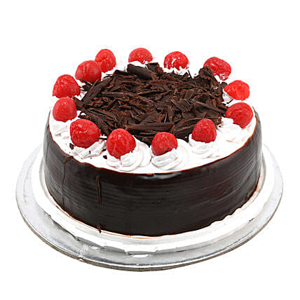 Black Forest with Cherry: Hug Day Gifts