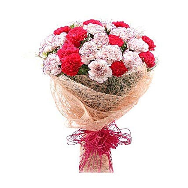 Blissful Beauty Bouquet: Mixed Colour Flowers