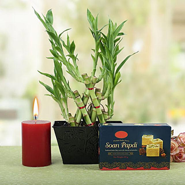 Bright Pyramid Bamboo Combo: Buy Sweets