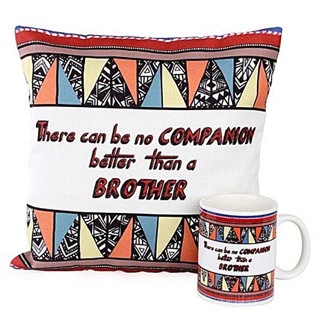 Brother Cushion Mug Duo: