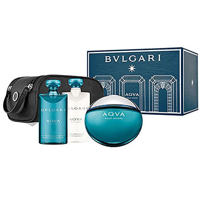 BVLGARI Aqua Gift Set For Men: Send Romantic Gift Hampers