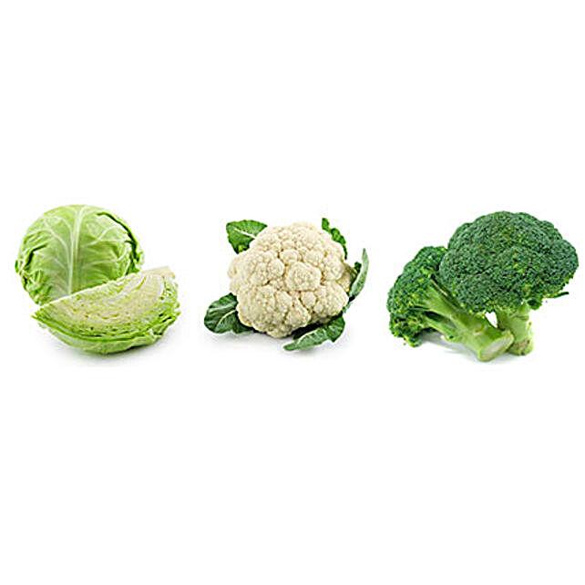 Cabbage Cauliflower & Broccoli Seeds Combo: Exotic Plant-seeds