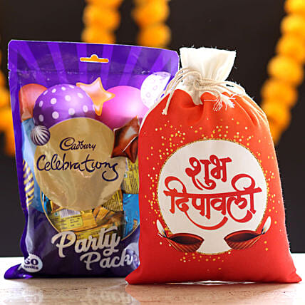 Cadbury Celebrations & Deepavali Gunny Bag: Cadbury Chocolates