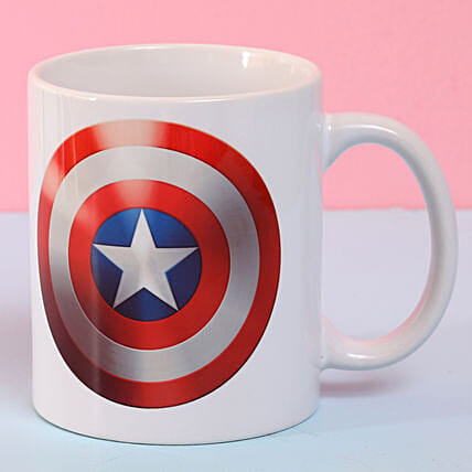 Captain America Ceramic Mug: Buy Coffee Mugs