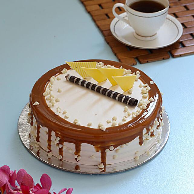 Caramel Cream Cake: Cake Delivery