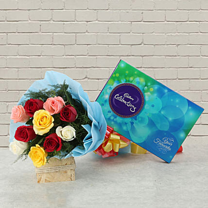 Celebrations with Roses: Valentines Day Flowers & Chocolates