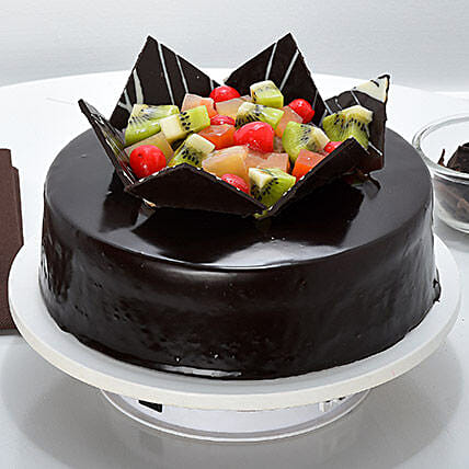 Chocolate Fruit Gateau Cakes To Chennai