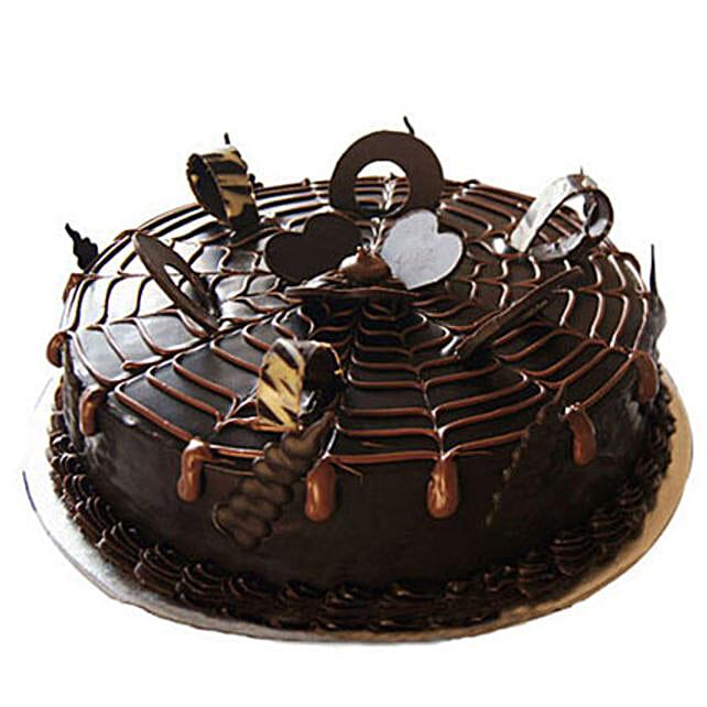 Chocolatey Drops of Pride Cake: Chocolate Cake