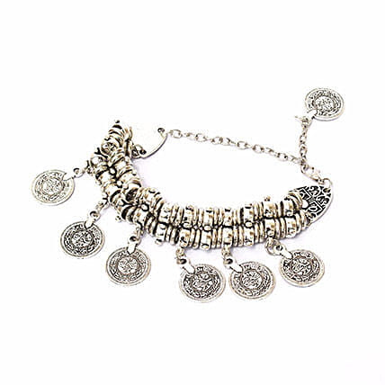 Chunky Coin Bracelet: Friendship Day Bands