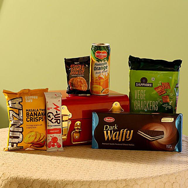 Coffee Day Cookies & Juice Gift Pack: Gourmet Gifts