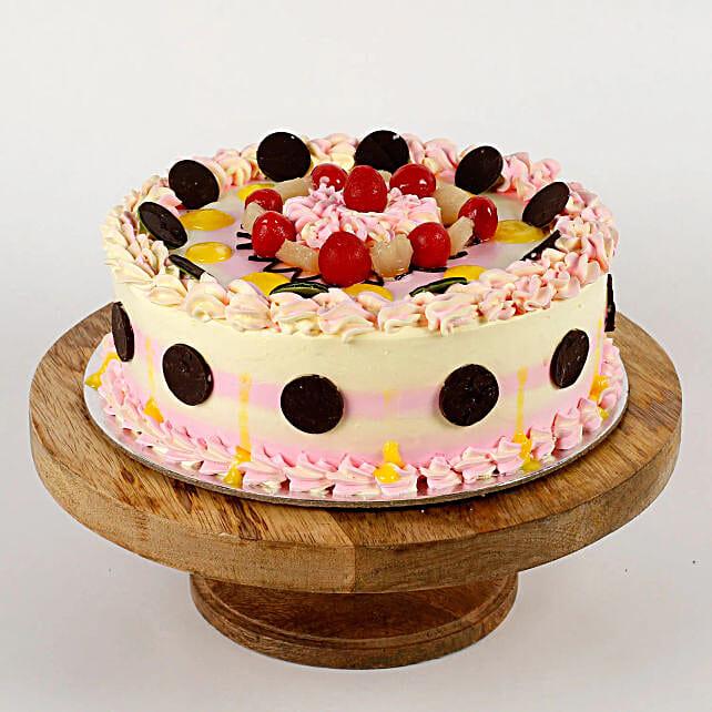 Colourful Cream Cake: Send Baisakhi Gifts