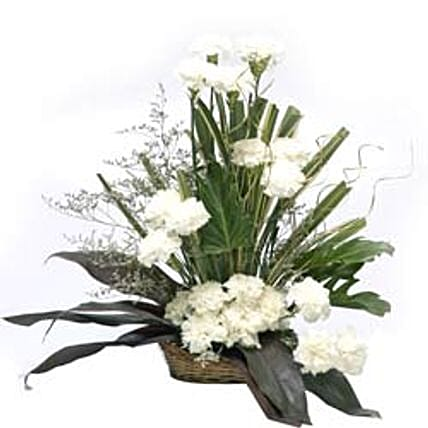 Cool Classic: White Flowers
