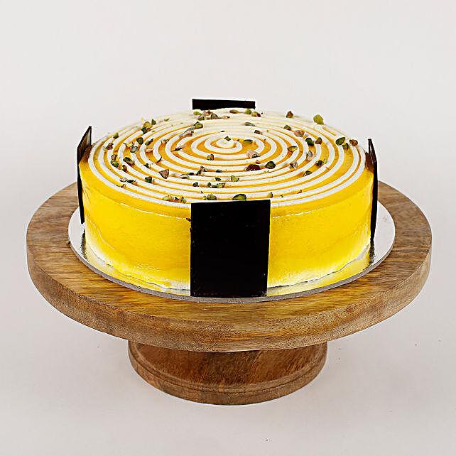 Cream Circle Cake: Send Baisakhi Gifts