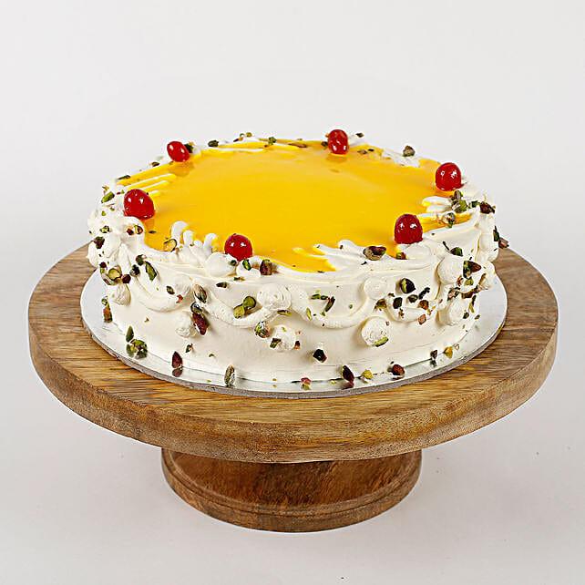 Cream Pista Cake: Pineapple Cakes Delivery