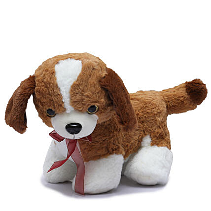 Cute Dog Soft Toy: Soft toys for Propose Day
