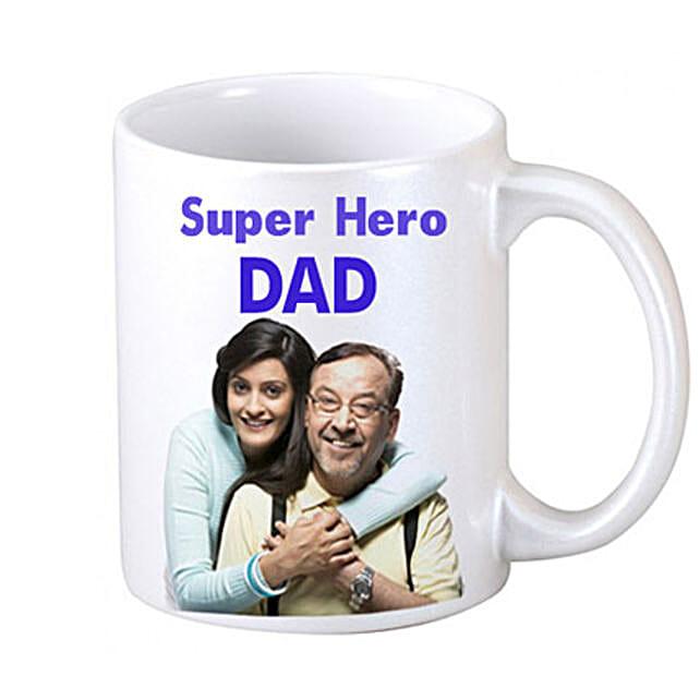 DAD Personalized Coffee Mug Birthday Gifts For Dad
