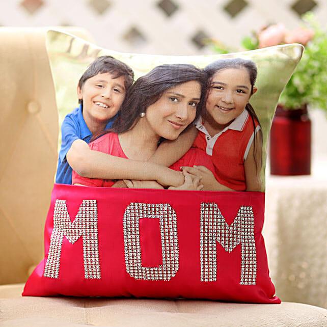 Dazzling Mom Cushion: Home Decor