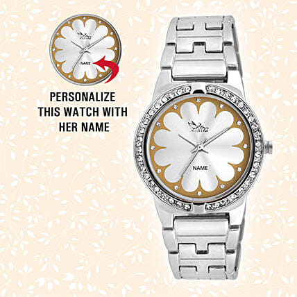 Debonair Personalised Watch For Her: Gifts for Daughters Day