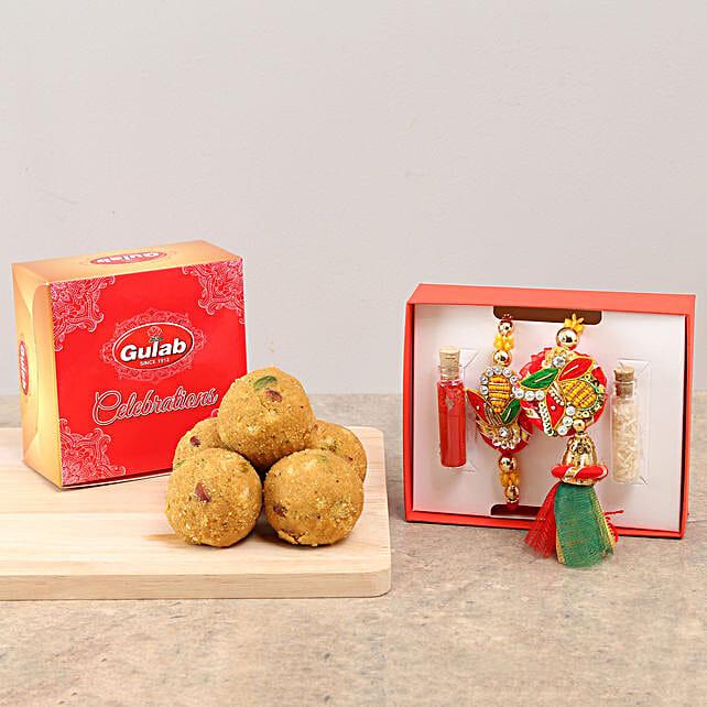 Designer Bhaiya Bhabhi Rakhi & Sweets: Sweets Delivery