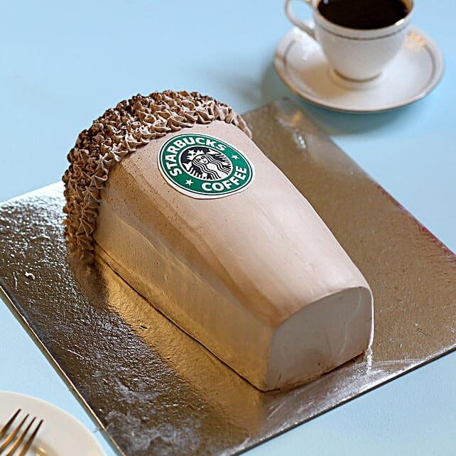 Designer Starbucks Cake: Designer Cakes