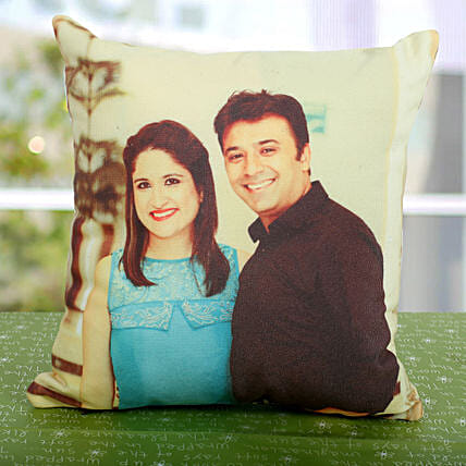 Double Sided Printed Personalized Cushion: Gift Ideas