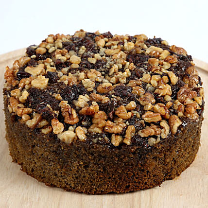 Dry Cake With Dates Walnuts Cakes To Bangalore