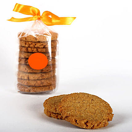 Eggless Coconut & Oat Cookie Tin: Gourmet Gifts