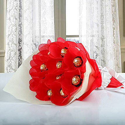 Elegant Ferrero Rocher Bouquet: Ferrero Rocher Chocolates
