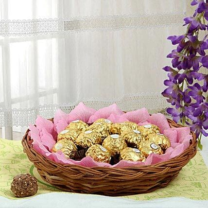 Ferrero Chocolate Basket: Gift Baskets