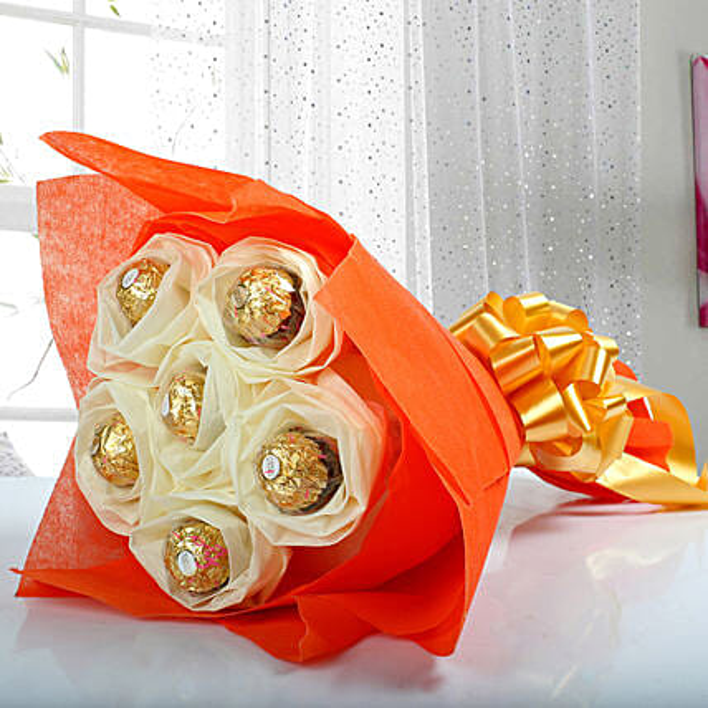 Ferrero Rocher Bouquet Send Chocolate