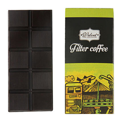 Filter Coffee Chocolate Bar: Send Holi Chocolates