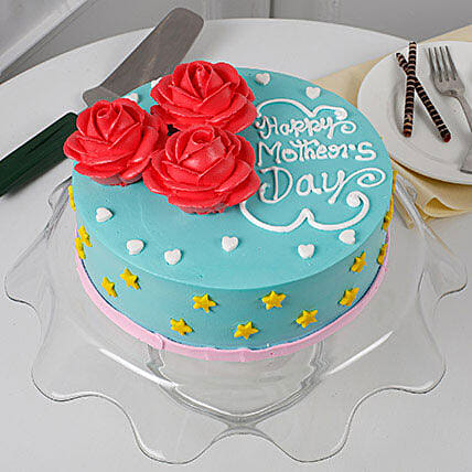Floral Mothers Day Cake: Designer Cakes