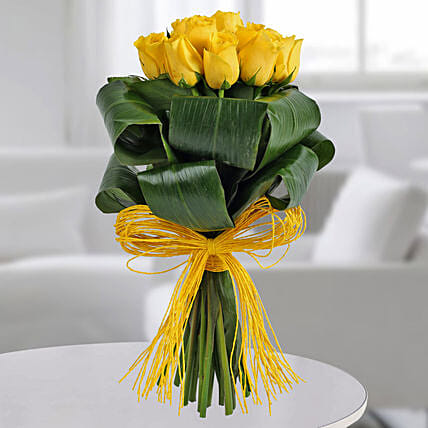 Gleams Of Sunshine Bouquet: Send Flower Bouquets