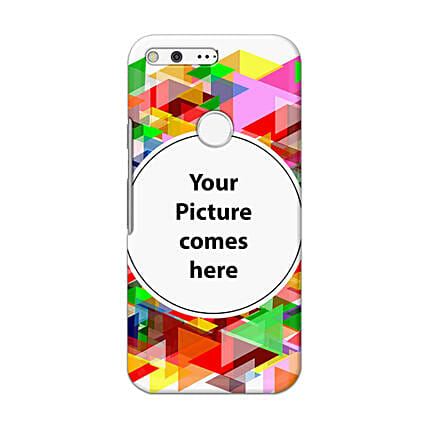 Google Pixel Customised Vibrant Mobile Case: Personalised Google Mobile Covers