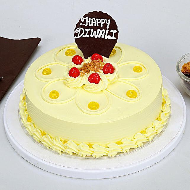 Happy Diwali Butterscotch Cake: Butter Scotch Cakes